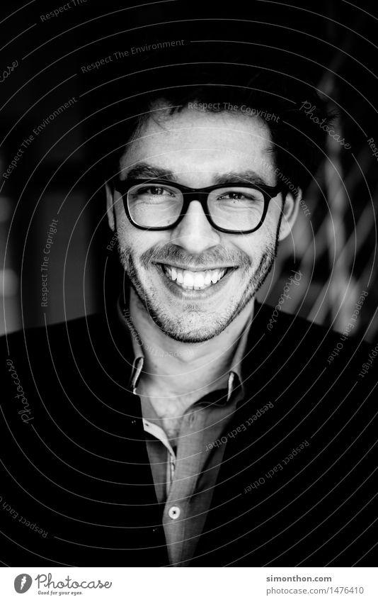 Portrait Mensch Freude Stil Lifestyle Business Stimmung maskulin Zufriedenheit Erfolg Kreativität Lebensfreude Studium einzigartig planen Pause Ziel