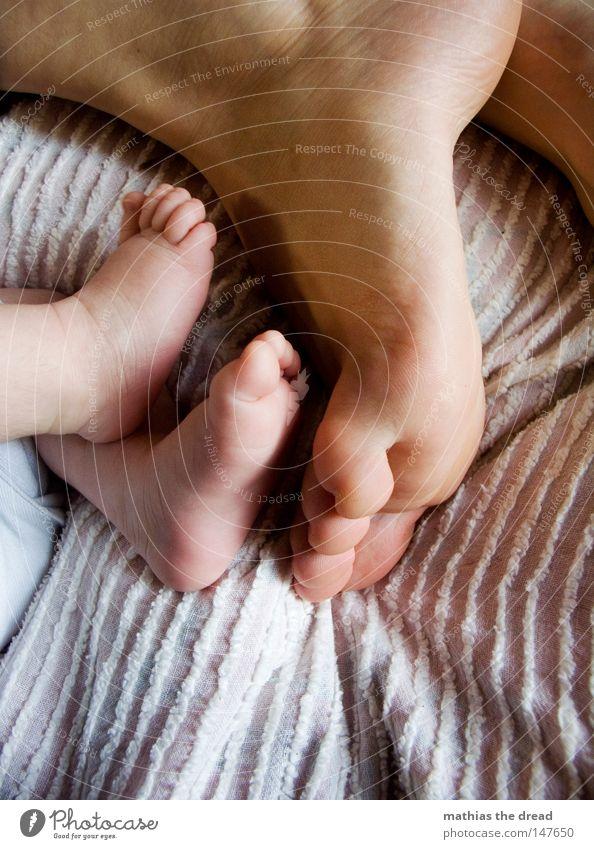 FEET Mensch Frau Kind Hand schön Freude Mädchen ruhig Erholung Liebe dunkel Leben Wärme Gefühle Junge Glück