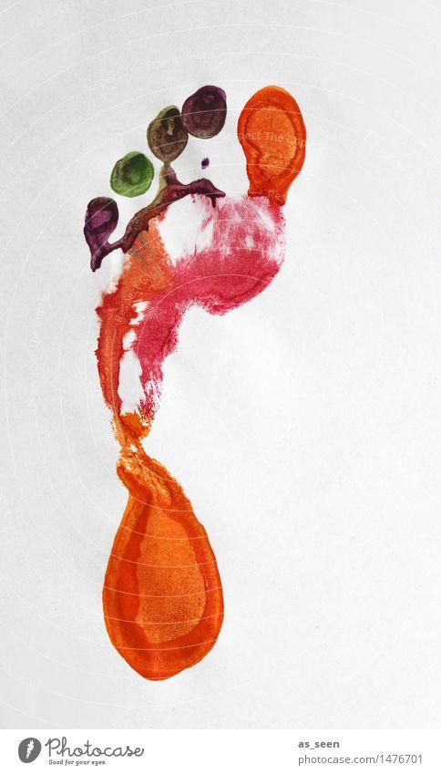 Auf großem Fuß Kind nackt - ein lizenzfreies Stock Foto von Photocase