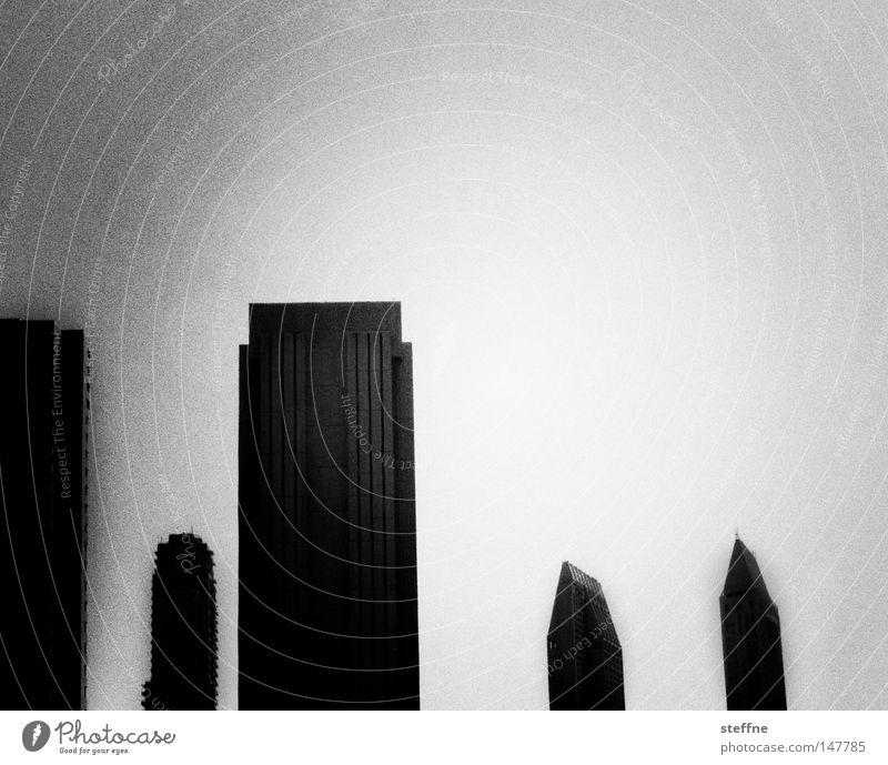 Zivilisation Stadt grau Traurigkeit Hochhaus modern trist USA Amerika Skyline Gesellschaft (Soziologie) Wohnsiedlung Neubau wohnlich Schnittstelle Gefühlskälte