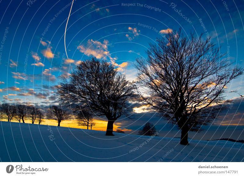 neue Weihnachtskarte 5 Himmel Natur blau weiß Baum Ferien & Urlaub & Reisen Winter Einsamkeit kalt Schnee Berge u. Gebirge Horizont Deutschland Wetter