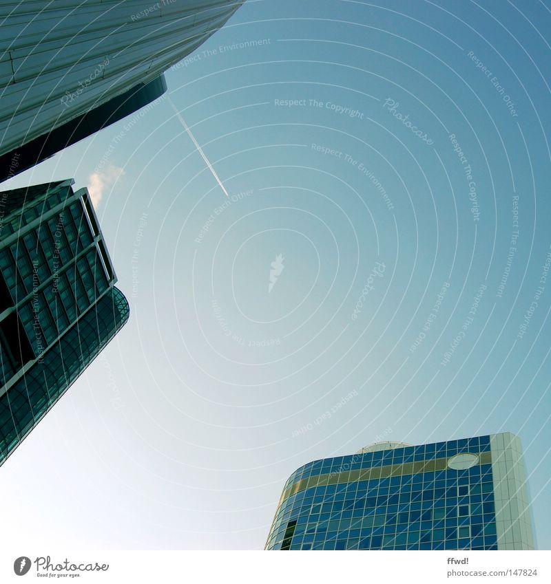 # Hello, mado! # You have 1 follower. Stadt Architektur Business Fassade Hochhaus Erfolg modern Zukunft Geldinstitut Bauwerk Bankgebäude Skyline aufwärts
