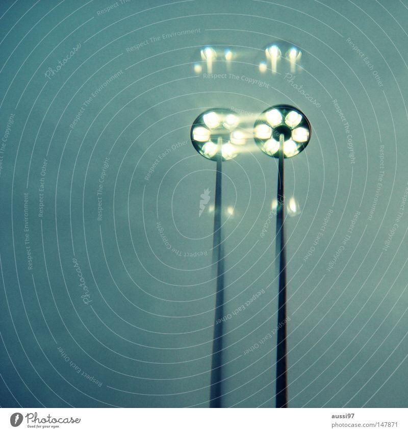 Klonvorgang Himmel Lampe Beleuchtung Laterne obskur Surrealismus Straßenbeleuchtung Glühbirne Doppelbelichtung Prisma
