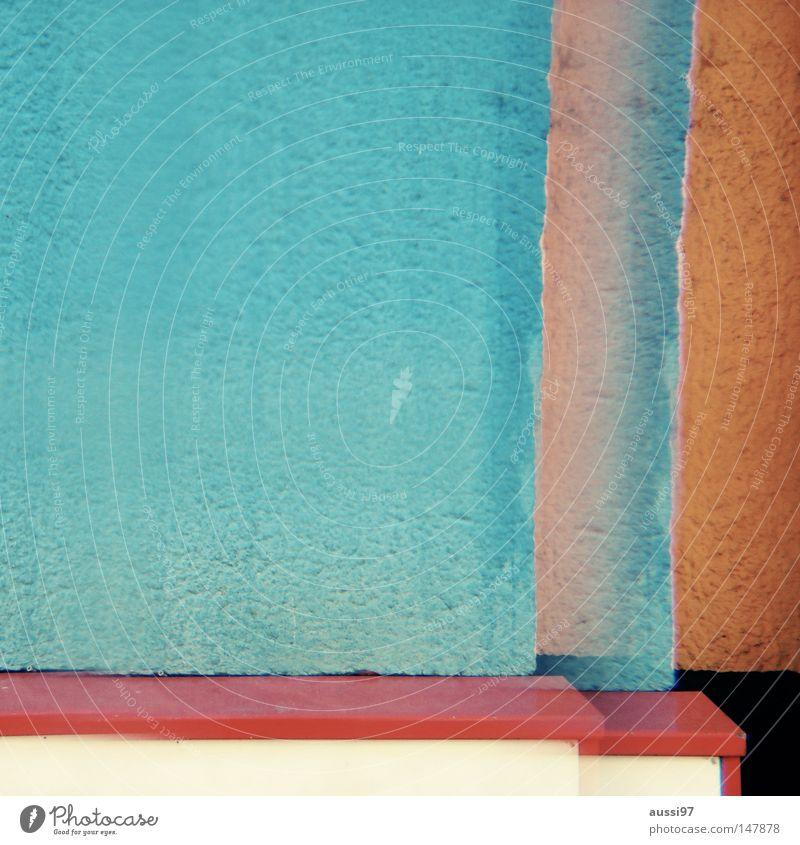 3D Farbe Surrealismus Doppelbelichtung dreidimensional Prisma