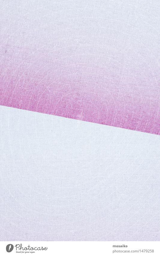 Leinenstoff pink und weiß Farbe Stil Lifestyle Mode oben hell rosa Design elegant verrückt Bekleidung retro kaufen weich Stoff