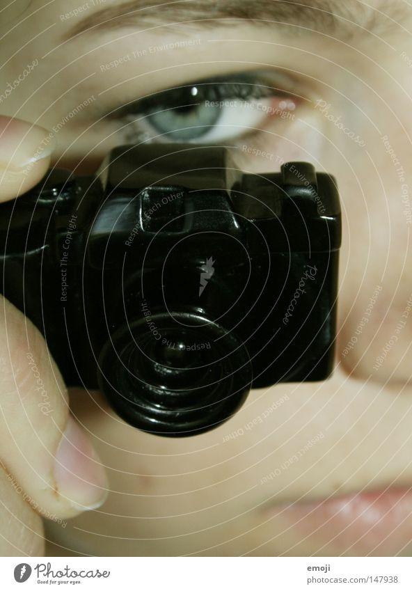 minicam Gesicht Fotografie Kunst Freizeit & Hobby Fotokamera Schmuck Accessoire spionieren Miniatur Beruf Profi Paparazzo Stalker Amateur