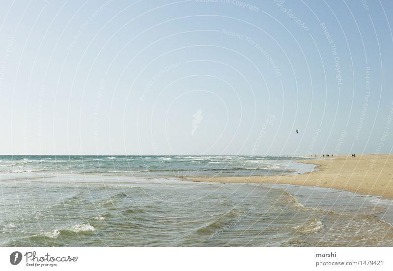 Sand & Meer Himmel Natur Ferien & Urlaub & Reisen Sommer Erholung Landschaft Strand Wärme Küste Stimmung Wetter Insel Schönes Wetter Bucht Kanaren