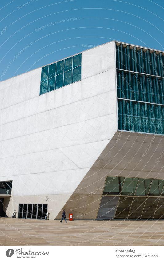 Haus der Musik Ferien & Urlaub & Reisen Architektur Gebäude Kunst Tourismus Kultur Bauwerk Wahrzeichen Sehenswürdigkeit Portugal Porto Betonbauweise