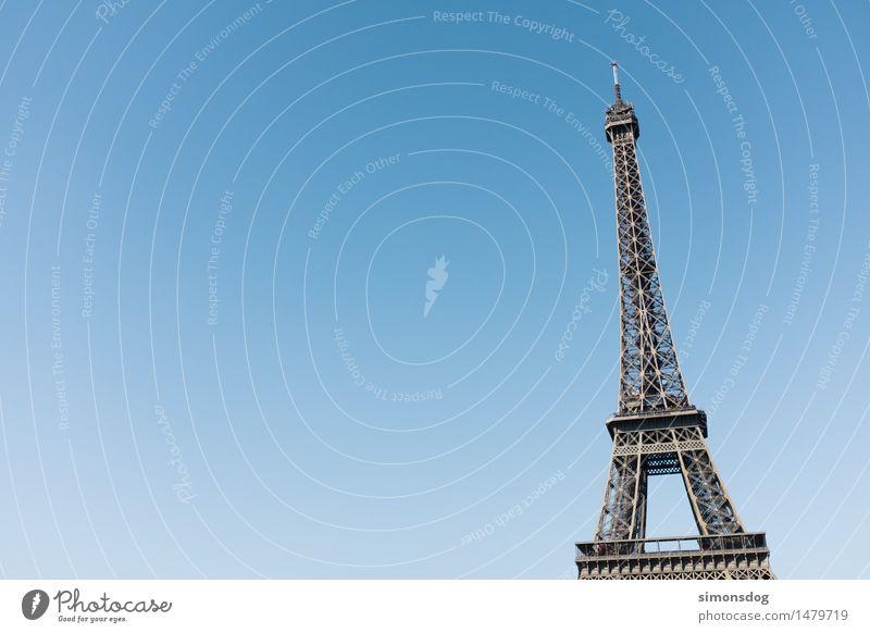 La Tour Eiffel Sehenswürdigkeit Wahrzeichen Denkmal Tour d'Eiffel Kultur Tourismus Architektur Erinnerung Paris Stadt Lifestyle Konstruktion Frankreich