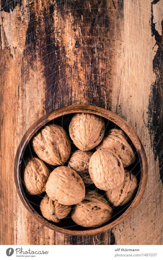 Walnüsse Lebensmittel Frucht Nuss Walnuss Ernährung Bioprodukte Vegetarische Ernährung Diät Fasten Vegane Ernährung Schalen & Schüsseln Gesundheit
