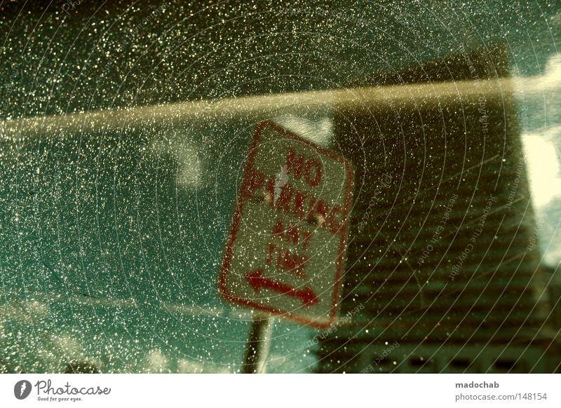 31°SNOWGLOBETRIPPIN' Parkverbot Schneekugel Miami Amerika Tagtraum glänzend abstrakt Schilder & Markierungen Wetter fensterhochhaus USA scnee Teile u. Stücke