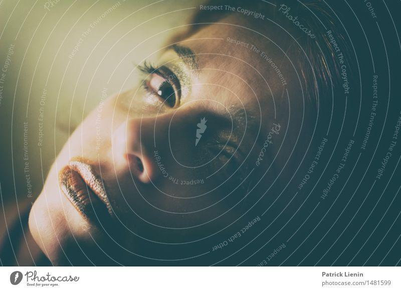 Lesley schön Haare & Frisuren Gesicht Wohlgefühl Zufriedenheit Sinnesorgane Erholung ruhig Mensch feminin Junge Frau Jugendliche Erwachsene Kopf 1 30-45 Jahre