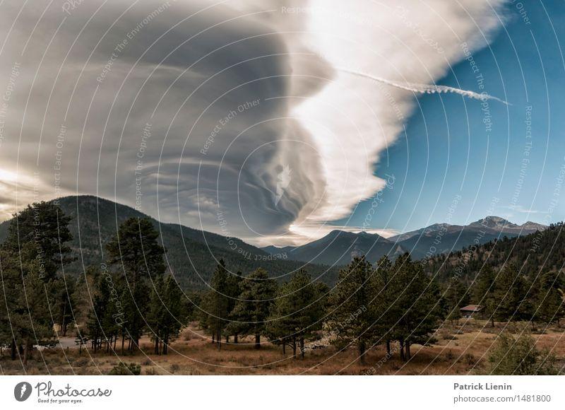 Rocky Mountain National Park Wohlgefühl Zufriedenheit Sinnesorgane Erholung ruhig Meditation Ferien & Urlaub & Reisen Abenteuer Camping Berge u. Gebirge wandern