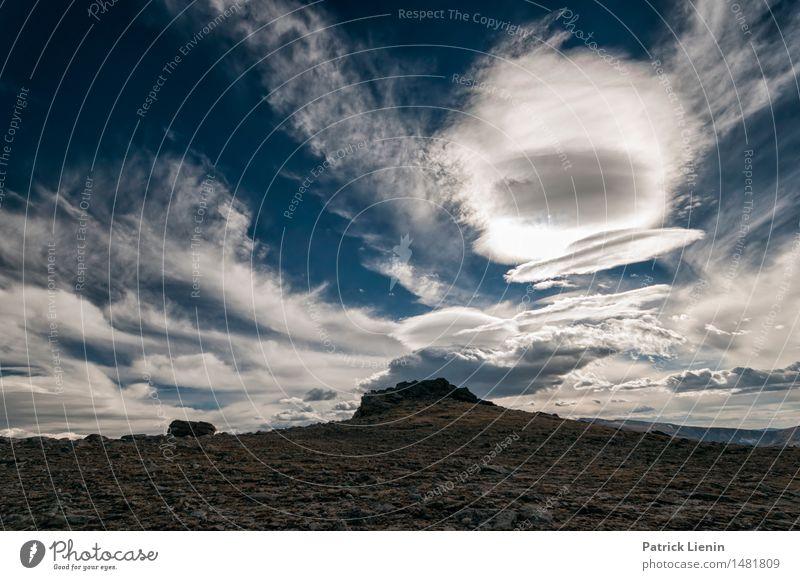 Rocky Mountains, Colorado Himmel Natur Ferien & Urlaub & Reisen Sommer Sonne Landschaft Einsamkeit Wolken Berge u. Gebirge Umwelt See Felsen Park Wetter Erde