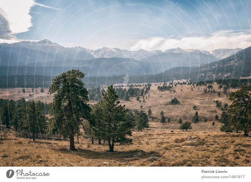 Rocky Mountains National Park Wellness harmonisch Wohlgefühl Zufriedenheit Ferien & Urlaub & Reisen Abenteuer Ferne Freiheit Expedition Camping Sonne