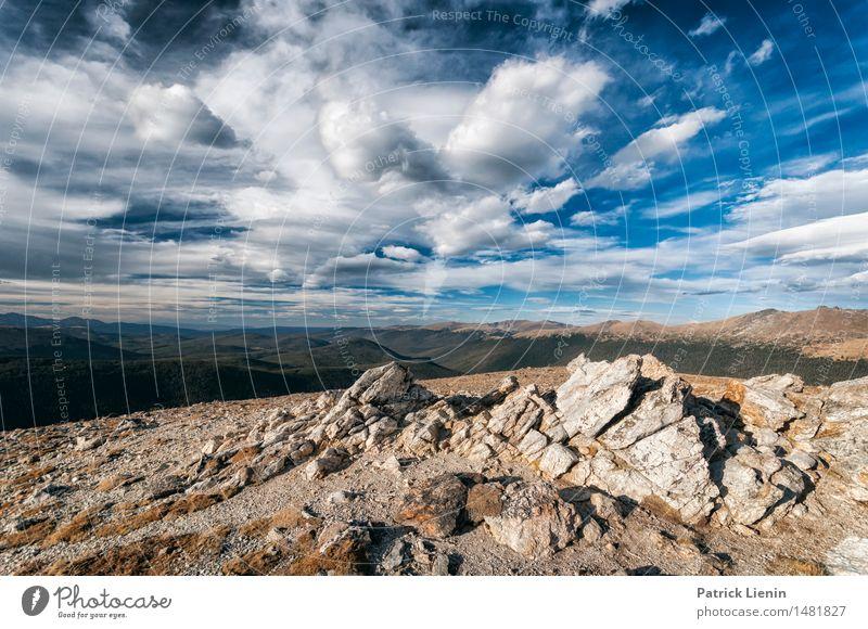 Rocks and Mountains Ferien & Urlaub & Reisen Abenteuer Berge u. Gebirge Umwelt Natur Landschaft Urelemente Luft Himmel Wolken Gewitterwolken Klima Klimawandel