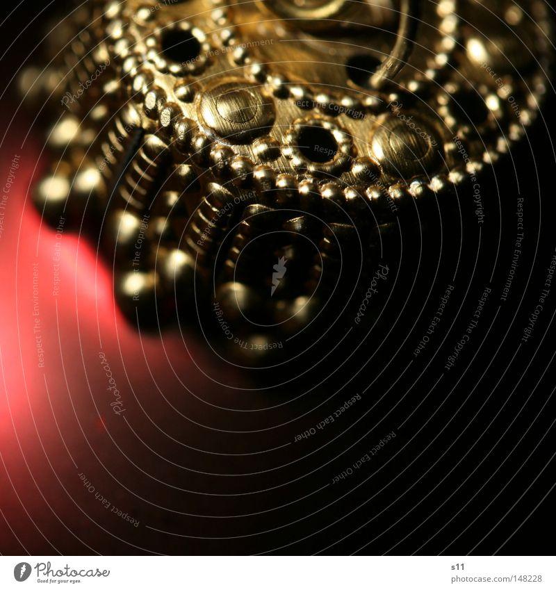Tree Jewellery Weihnachten & Advent rot Feste & Feiern gold Dekoration & Verzierung Kreis rund niedlich Kerze fest Kugel Tanne Schmuck Christbaumkugel edel