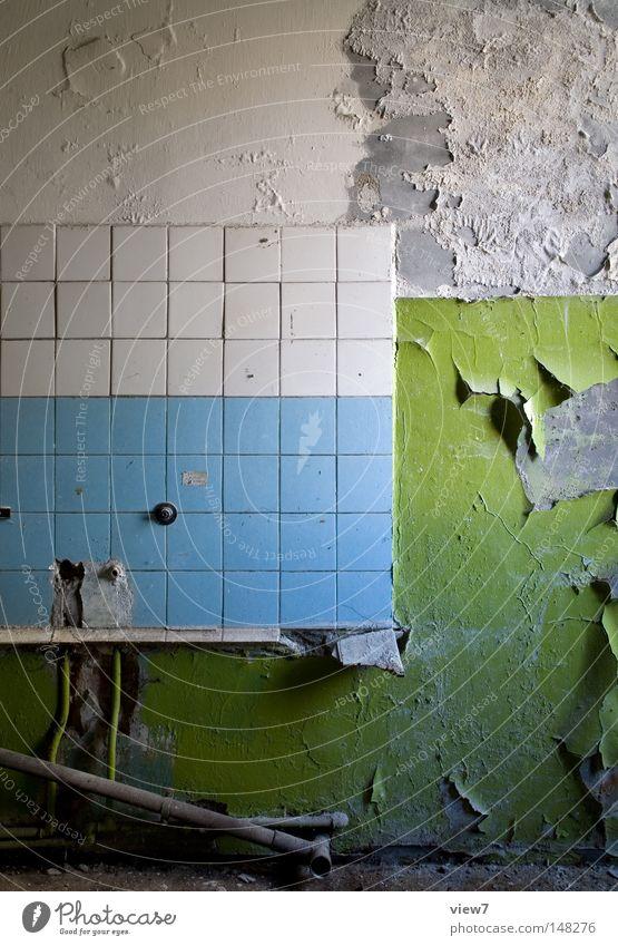 Zahn der Zeit alt Farbe weiß Einsamkeit dunkel schwarz Wand Traurigkeit Hintergrundbild Tod Holz Zeit Stimmung gehen Raum dreckig