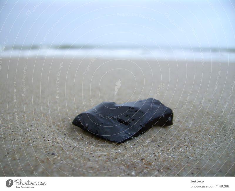 Fundstück Himmel Meer Strand Ferien & Urlaub & Reisen Stein Sand Küste Deutschland Erde Insel Wangerooge
