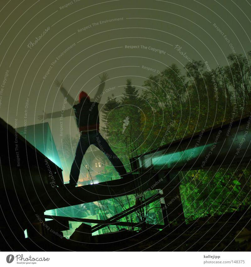 der wiXer Mensch Mann Hand Meer Haus Fenster Berge u. Gebirge Gefühle springen See Luft Linie Tanzen Glas fliegen Fassade