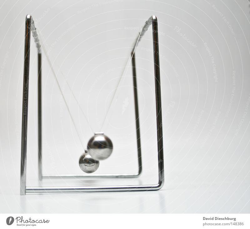 Newtongestell Spielen Bewegung Metall Kunst Kraft Seil Dekoration & Verzierung Reaktionen u. Effekte rund Schnur Ball Physik 5 Kugel Schreibtisch