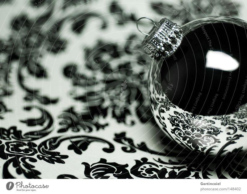 Glamour Weihnachten & Advent Winter Stil Reflexion & Spiegelung glänzend Design elegant Kugel Lifestyle Dekoration & Verzierung Tapete Reichtum Christbaumkugel