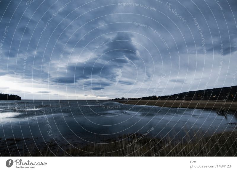 Beluga Slough - Alaska 21 Himmel Natur Meer Herbst Küste wild Luft Wind bedrohlich Urelemente Bucht Unwetter Sturm Nachthimmel schlechtes Wetter Gewitterwolken