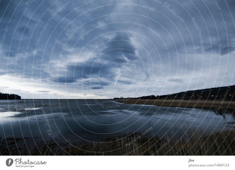 Beluga Slough - Alaska 21 Natur Urelemente Luft Himmel Gewitterwolken Nachthimmel Herbst schlechtes Wetter Unwetter Wind Sturm Küste Bucht Meer homer wild