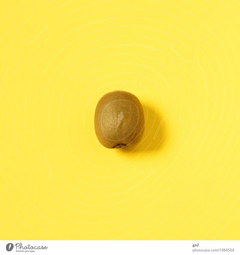 Kiwi Lebensmittel Frucht Ernährung Bioprodukte Vegetarische Ernährung Diät Fasten Gesunde Ernährung Essen ästhetisch einfach frisch Gesundheit lecker braun gelb