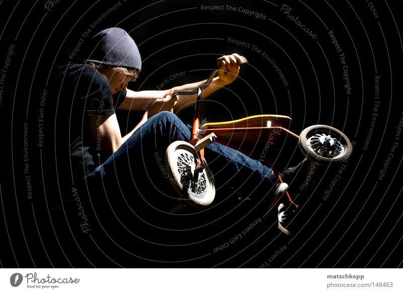 TMX schwarz Spielen Holz springen Metall Freizeit & Hobby maskulin Bekleidung Metallwaren Jeanshose Konzentration Mütze Jeansstoff Reifen anstrengen Griff