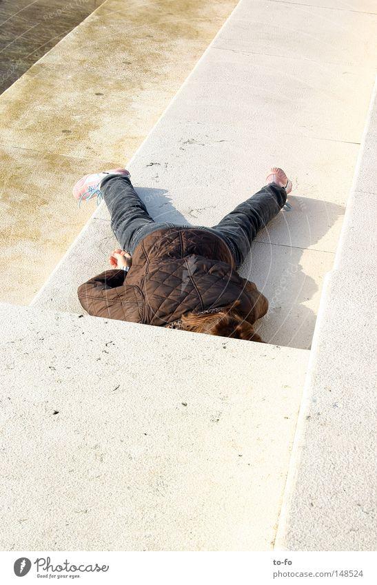 Mittagsruhe ruhig Erholung liegen schlafen Pause Konzentration Müdigkeit verschlafen