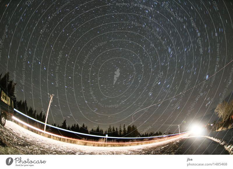 700 - Blick gen Norden - Alaska 24 Himmel Natur Erholung Ferne Herbst Bewegung Zufriedenheit Luftverkehr Ausflug Stern Schönes Wetter Urelemente Mitte drehen