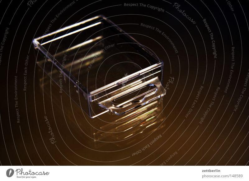 Flankenschutz Arbeit & Erwerbstätigkeit Glas Ordnung leer Klarheit Kunststoff Sammlung Werkzeug Lautsprecher durchsichtig Dose Basteln Schachtel Büchse