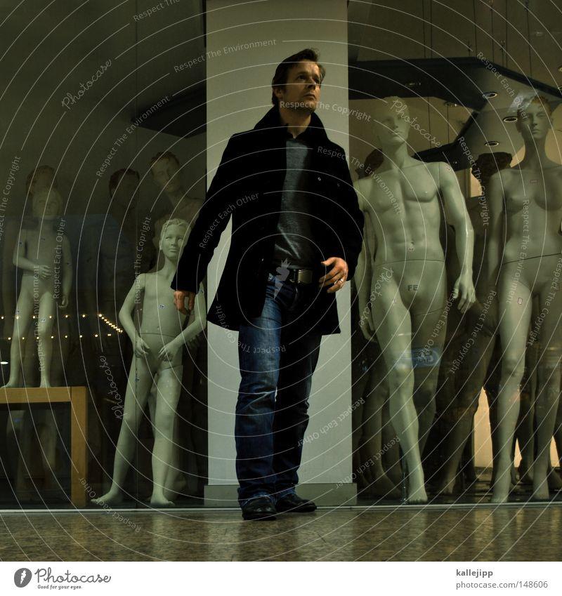 pictures for the masses Mensch Mann Stil Menschengruppe Mode gehen laufen Lifestyle Zukunft Bekleidung Model Lebewesen Ladengeschäft führen Puppe Typ