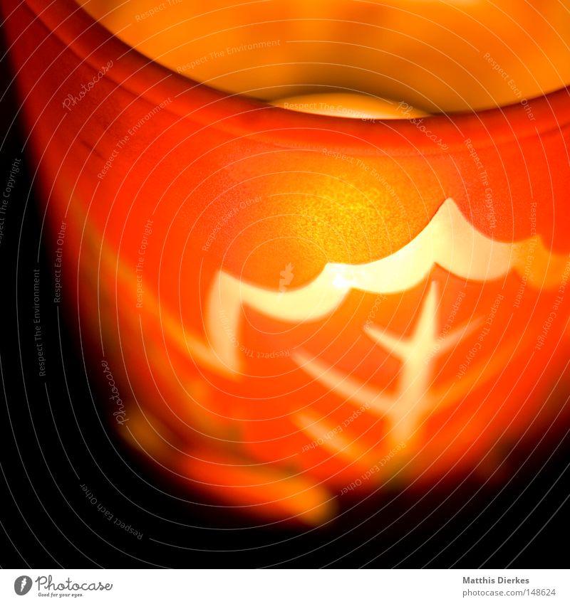 Kerze Weihnachten & Advent rot Freude gelb Religion & Glaube Feste & Feiern Glas gold Brand Häusliches Leben Trauer Dekoration & Verzierung Kitsch