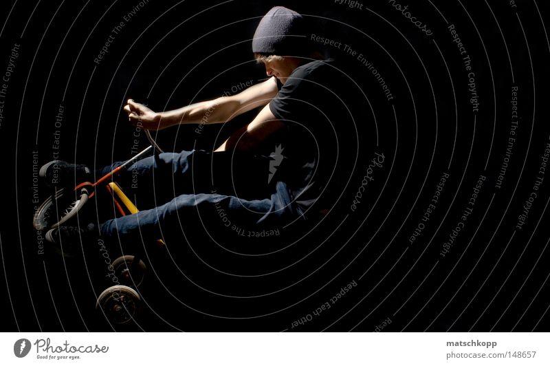 TMX II Jugendliche schwarz Spielen Holz springen Metall Freizeit & Hobby maskulin Bekleidung Metallwaren Jeanshose Konzentration Mütze Jeansstoff Reifen anstrengen