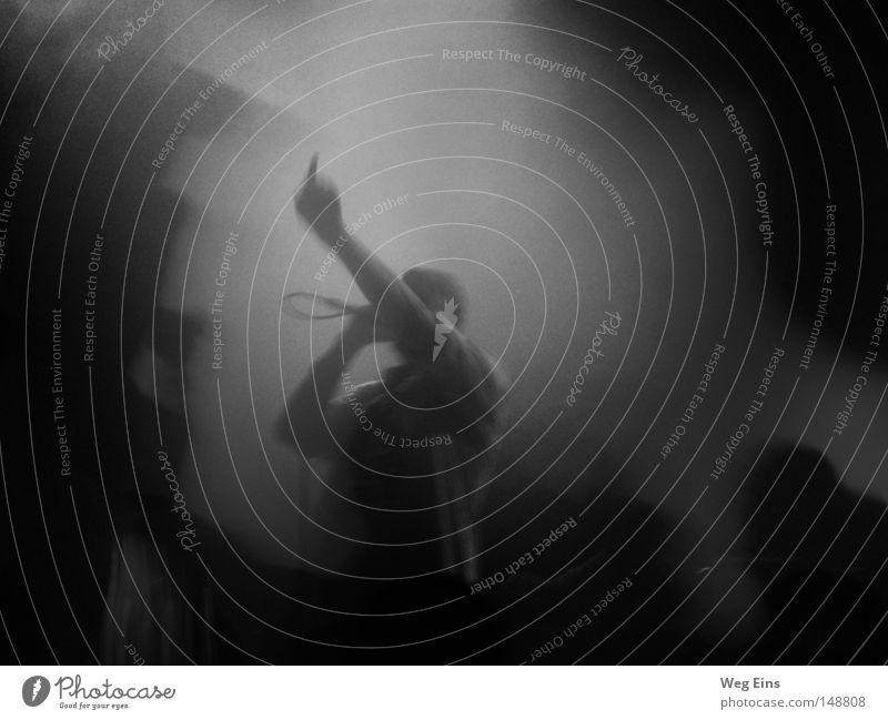 Der Fluch Konzert live Musik Hiphop Sprechgesang Rock 'n' Roll Rockmusik Faust Stimmung Rauch Schatten Mikrofon Kabel Publikum Langzeitbelichtung Kunst