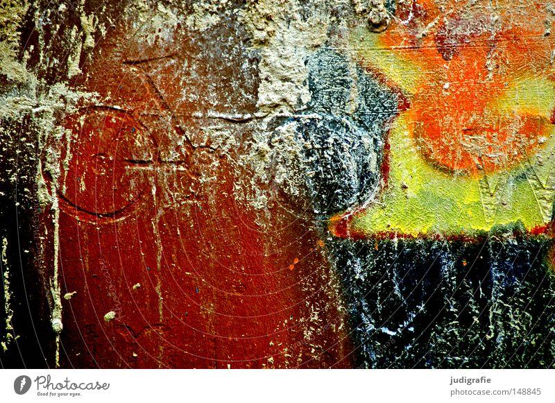 Farbrad Farbe Wand Farbstoff Graffiti Fahrrad Schilder & Markierungen Zeichen Rad Hinweisschild Symbole & Metaphern Relief Wandmalereien