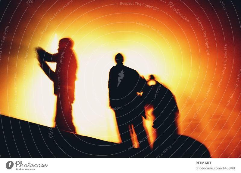 elf Mensch dunkel Mauer Gebäude Beleuchtung Himmelskörper & Weltall