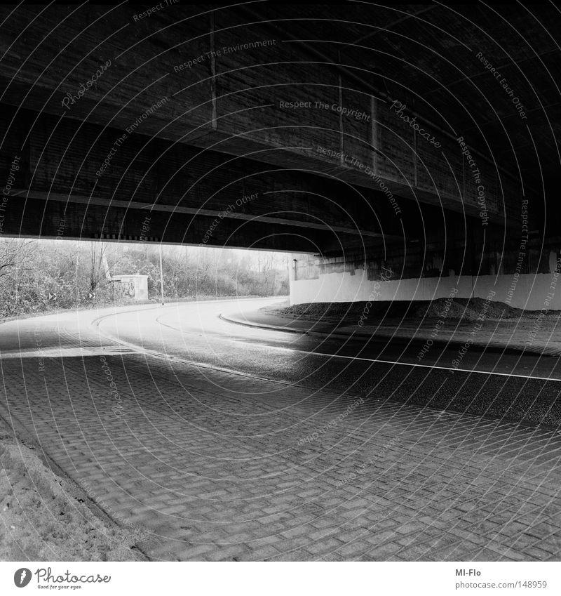 2WaysToTravel weiß schwarz Straße dunkel Wege & Pfade hell Brücke Asphalt Autobahn