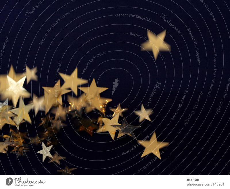 Springerle Weihnachten & Advent Leben springen Bewegung Stimmung Feste & Feiern gold glänzend Fröhlichkeit Stern (Symbol) außergewöhnlich