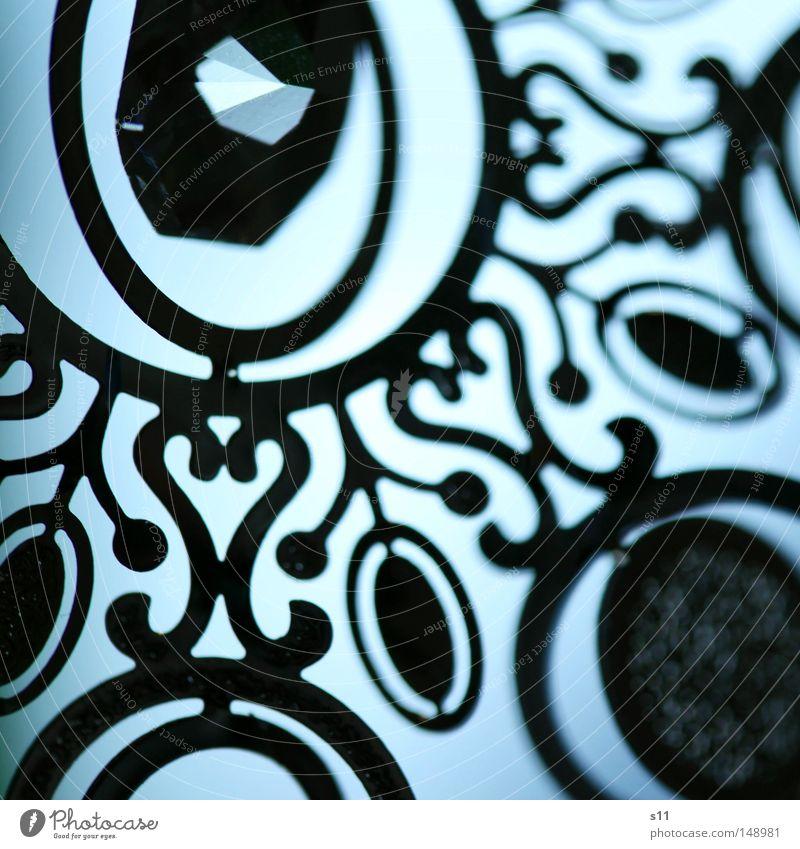 WeihnachtsKlimbim blau schön Feste & Feiern Metall glänzend elegant Glas Dekoration & Verzierung rund Muster Kitsch Schmuck Anschnitt Bildausschnitt flach edel