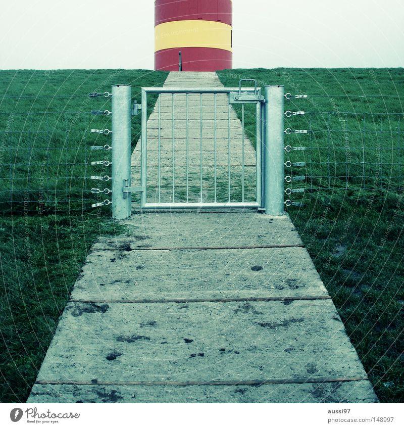 Cape fear geschlossen Treppe Turm Hafen Tor Pferch gesperrt Schleuse