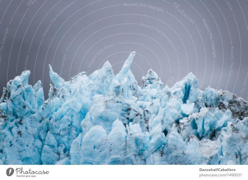 Eiszeit Ferien & Urlaub & Reisen Tourismus Winter Winterurlaub Natur Wasser Wolken Klima Klimawandel Wetter Frost Schnee Gletscher außergewöhnlich dreckig