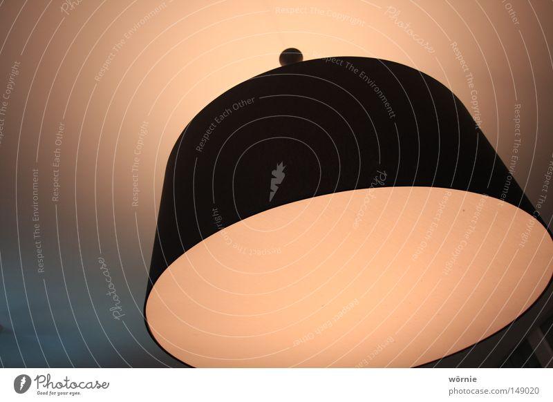 Licht Lampe dunkel hell Stimmung Beleuchtung Kreis Decke