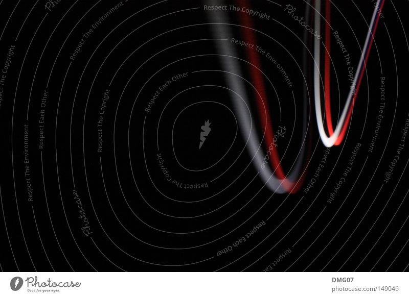 Pommes Rot-Weiß (die Zweite) weiß rot Winter schwarz Herbst Bewegung Stil Musik Beleuchtung Geschwindigkeit Coolness Dynamik Strahlung Diskjockey Lichtspiel