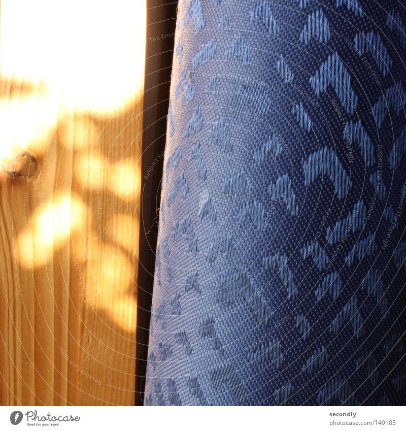 morgensgehtdiesonne auf foto blau Holz orange Ordnung Frieden Vorhang Schatten Verlauf Schlafzimmer
