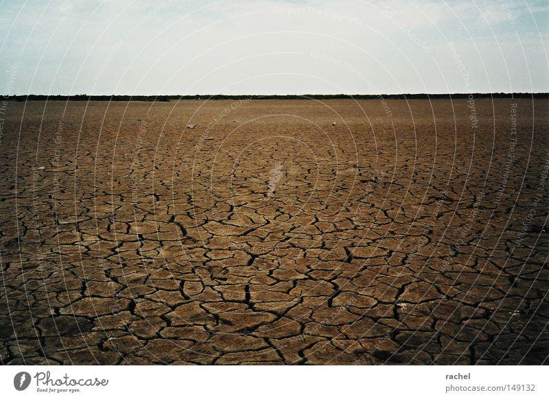 Aigues Mortes Natur Himmel Sommer Einsamkeit Ferne Traurigkeit Wärme Sand Landschaft Wetter Umwelt groß Horizont Erde leer Trauer