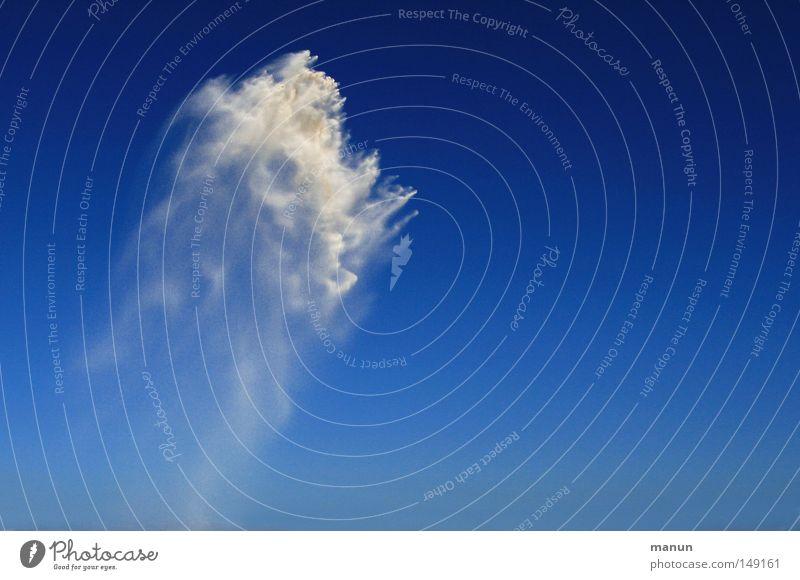 sandy cloud Natur schön Sand Hintergrundbild fliegen hoch natürlich einzigartig außergewöhnlich obskur Dynamik skurril Leichtigkeit Blauer Himmel Schönes Wetter