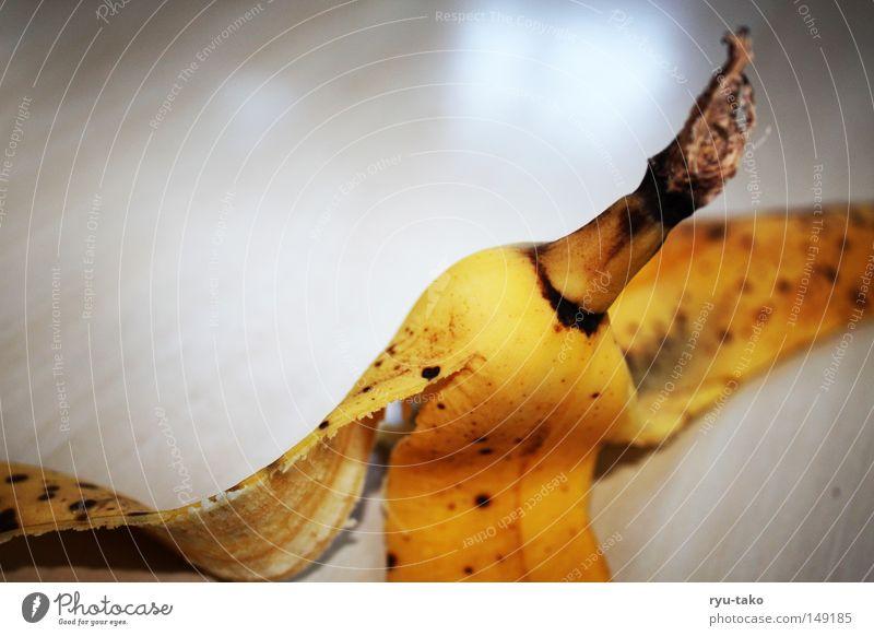 Banana Ernährung gelb braun Frucht Fleck Hülle Banane